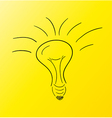 sketch of the bulb vector image