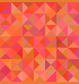 abstract triangle pyramid pattern background vector image vector image