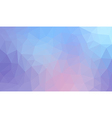 Blue Gradient abstract polygon background vector image