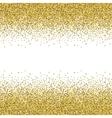 Glitter golden texture vector image