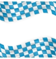Oktoberfest abstract wavy bright background vector image vector image
