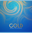 abstract backgdround with light fluid wave texture vector image vector image
