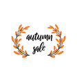 autumn time colorful juicy autumn icons with vector image vector image