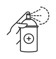 cleaning disinfection spray alcohol in bottle