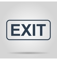 EXIT Icon concept for design vector image