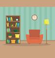flat of cozy reading room