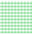 green and white plaids seamless pattern checkered vector image vector image