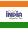 Independence Day background India vector image