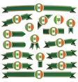ireland ribbons vector image