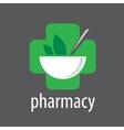 logo pharmacy vector image vector image