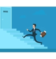 Stressed businessman vector image vector image
