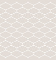 subtle monochrome seamless pattern of mesh vector image vector image