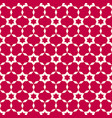 abstract seamless pattern simple red geometric vector image vector image