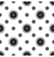Black grey white abstract seamless pattern21 vector image