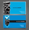business card for repair waterpipe vector image