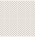 dotted background seamless monochrome polka dot vector image