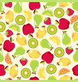 juicy fruit pattern vector image