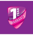 logo 10 years warranty vector image vector image