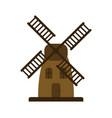 mill icon vector image vector image