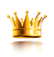object crown vector image vector image