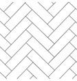 outline parquet pattern vector image