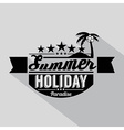 Summer Design Badge vector image