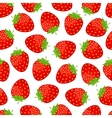 Sweet strawberries background vector image vector image