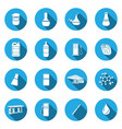 universal flat icon vector image