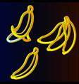 banana3 vector image