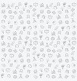business icons pattern vector image vector image
