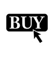 buy it sign black icon on vector image
