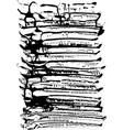 ink background grunge vector image vector image