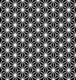 japanese pattern black and white vector image vector image