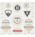Labels banners and design elements set vector image vector image