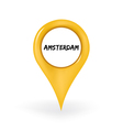 Location Amsterdam vector image