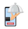 online order concept vector image vector image