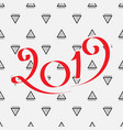 2019 new year design vector image
