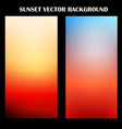 Abstract colorful sunset background