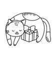 cute pet animal cartoon vector image vector image