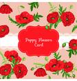 floral shabchic card - bashower invitation vector image vector image