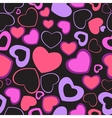 Heart Love Seamless Pattern Background vector image vector image
