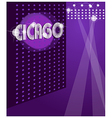 Night club background vector image vector image