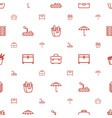 box icons pattern seamless white background vector image vector image