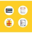 digital marketing shopping vector image vector image