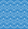 seamless pattern on light blue background vector image