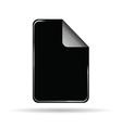 stickers black vector image