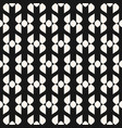 abstract geometric seamless elegant black pattern vector image vector image