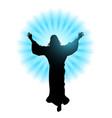 ascension jesus christ vector image vector image
