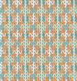 Beautiful geometric pattern Knitwear vector image