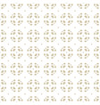 geometric ornament subtle white and beige vector image vector image